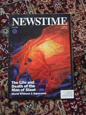 Newstime May 1993 Life and death of the Man of Steel, Works without Superman