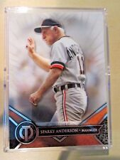2017 Topps Tribute Sparky Anderson Tigers Star Manager HOFer