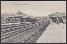 Berks  - NEWBURY, Great Western Railway Station - Used 1910