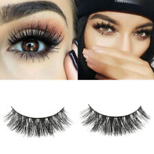 1 Pair 3D Mink False Eyelashes Layered Wispy Lashes Long Party Fluffy Makeup OE