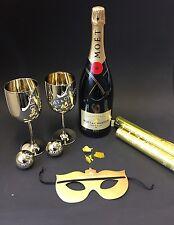 "Moet Chandon ""Party Set"" Champagner 1,5l Magnum Flasche 12% Vol. Konfetti Kanone"