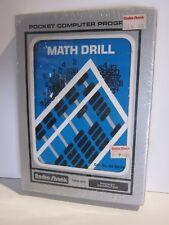 Math Drill TRS-80 Radio Shack Pocket Computer Program New Factory Sealed 26-3514