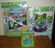 Uglydoll Birthday Party Decorations & Candles Table/Wall/Cake Ugly Doll Movie