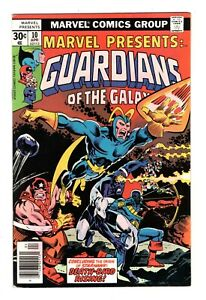 MARVEL PRESENTS: GUARDIANS OF THE GALAXY 10 (NM-) STARHAWK (FREE SHIPPING) *
