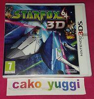 STAR FOX 64 3D NINTENDO 3DS NEUF VERSION 100% FRANCAISE