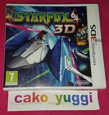 STAR FOX 64 3D NINTENDO 3DS NEUF VERSION 100% FRANCAISE
