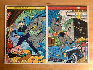 TWO Vintage Batman Puzzles (1966)