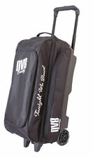 DV8 Freestyle 3 Ball Bowling Roller Bag Color Black New