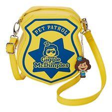 Disney Toy Story 4 Giggle McDimples Pet Patrol Crossbody Bag Costume Cop Purse