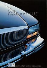 Prospekt D+GB Buick Park Avenue 1991 Autoprospekt Broschüre brochure broschyr