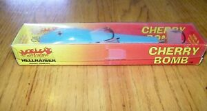 Vintage Hellraiser Tackle Company Wood Cherry Bomb Musky Lure in Box