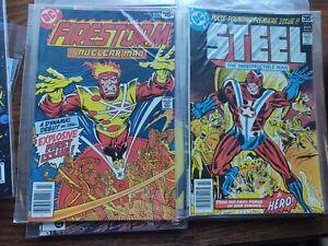 9 #1 DC comics steel, firestorm, watchmen.nm