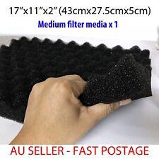 """1 piece Medium - Aquarium Fish Pond Filter Media Foam Sponge Medium 17"""" x 11"""""""