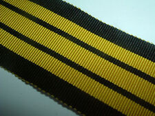 RIBBON-GOOD QUALITY OLD SILK/COTTON EAST AND WEST AFRICA MEDAL RIBBON