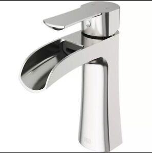 NEW! VIGO Paloma Single Hole Single-Handle Bathroom Faucet Brushed Nickel