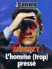 Les dossiers du canard n°89 du 10/2003 Nicolas Sarkozy