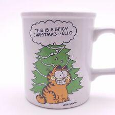 Vintage Garfield Seasoned Greetings Coffee Tea Mug Jim Davis 1978