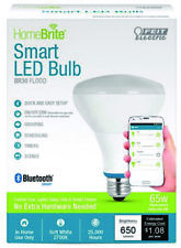 Bluetooth Smart LED: BR30 FLOOD 65W Equivalent Dimmable Feit Electric