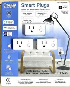3-pack Feit Electric WiFi Smart Plug Alexa or Google Home M42a 1368338