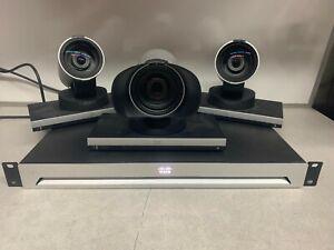 Lot of (3) Cisco Precision HD 1080p Camera TTC8-02 with SX80 Codec TTC6-12