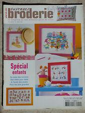 Revue POiNT de CROiX Ouvrages Broderie Hors-Série ENFANTS N° 14 - Mars 2004