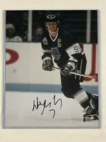 """""""The Great One"""" Wayne Gretzky autographed 8X10 Photo with Beckett COA"""