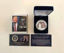 President Donald Trump...  Trump Tower...   Commemorative Coin.. in a Case
