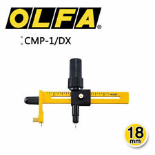 OLFA CMP-1/DX 18mm Rotary Compass Circle Cutter Fabric Knife Utility JAPAN_V