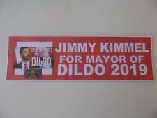 Jimmy Kimmel- Mayor in Newfoundland, Canada 2019, Campaign Bumper Sticker