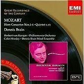 Wolfgang Amadeus Mozart - Mozart: Horn Concertos; Quintet (1998) Brain. Karajan