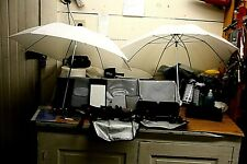 Camera Flash Kit & Filters With Umbrellas