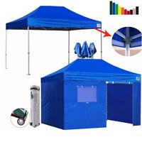 Ez Pop Up Commercial Canopy 10x15 Outdoor Patio Gazebo Party Fair Shelter Tent