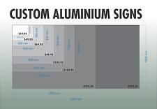 2440mm x 1220mm Aluminium Composite Custom Sign