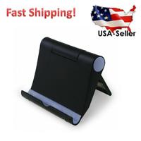 Foldable Cell Phone Desk Stand Holder Mount Cradle For iPhone Samsung Tablet US
