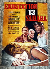 ENDSTATION 13 SAHARA * BAKER - A1-FILMPOSTER -GEROLLT 1960 Station Six-Sahara