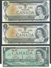 Canada 1 One Dollar Lot 2 Consecutive 85a and 1967 Centennial CU