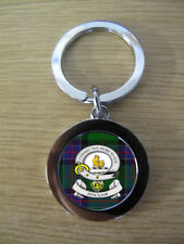 SINCLAIR CLAN KEY RING (METAL) IMAGE DISTORTED TO PREVENT INTERNET THEFT