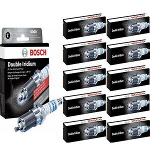 10 pcs Bosch Double Iridium Spark Plugs For 2013-2014 SRT VIPER V10-8.4L