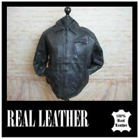 "MENS LEATHER JACKETS 44"" CHEST   REF 3837"