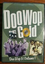 Doo Wop Gold 51 Volume 1 (DVD, 2002, Time-Life) NEW!