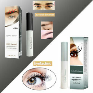 100% Natural Eyelash/Eyebrow Enhancer Rapid Growth Serum Liquid 3ML New