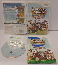 Console Game Gioco NINTENDO WII PAL ITALIANO ITA - HARVEST MOON MAGICAL MELODY -