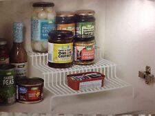 Cupboard Steps Kitchen Cupboard Basket 3 Storage Shelves Organizer Smart Storage