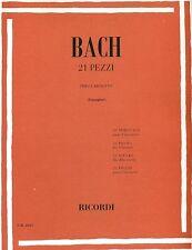 BACH PIECES (21) GIAMPIERI CLARINET