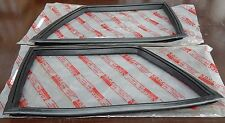 FORD CORTINA LOTUS GT 440 MK1 2 TWO DOOR REAR SIDE 1/4 QUARTER WINDOW RUBBER 2pc
