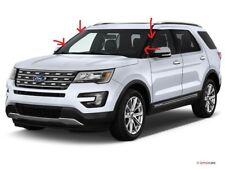 2011-18 Ford Explorer Left & Right outer windshield Molding Trim / Pillar