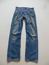 REPLAY MV 943A Jeans Hose, W 30 /L 32, faded wash USED Denim mit Knopfleiste !