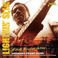 Lightnin' Slim - I'm a Rolling Stone-Louisiana Swamp Blues: Singles [New CD] UK