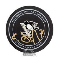 Evgeni Malkin Autographed Pittsburgh Penguins Hockey Puck - JSA COA