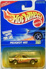 HOT WHEELS 1996 PEUGEOT 405 #467